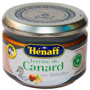 Паштет Henaff запеченный из утки с лесным орехом 180 г.