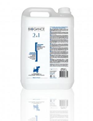 Био-шампунь 2 в 1 (шампунь антистатик + кондиционер), 5 л.
