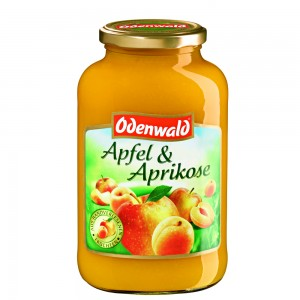 Яблочно - абрикосовый мусс Odenwald, 720 мл.