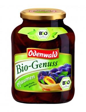 Био - слива (половинки) Odenwald в сиропе, 580 мл.