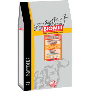 Biomill Medium Junior Chicken & Rice Swiss Professional Корм Биомилл для щенков средних пород, 20 кг.