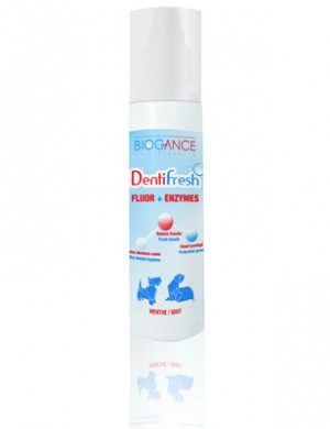 Biogance Denti Fresh / Био-спрей Биоганс для устранения зубного налета и защиты зубов и десен от разрушения, 100 мл.