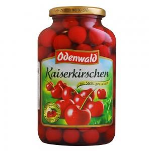 Вишня сладкая Odenwald с косточками в сиропе, 720 мл.