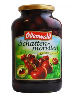 Вишня темная Odenwald без косточек в сиропе, 720 мл.