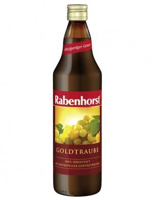 Сок Rabenhorst «Золотой виноград» 100%, 750 мл.