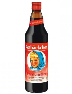 """Сок для детей Rabenhorst """"Румяные щечки"""" - Сок мультифруктовый """"Неболейка"""" для укрепления иммунитета (без сахара), 750 мл."""