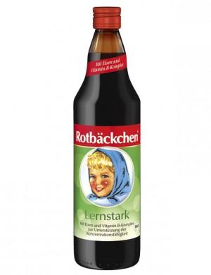 """Сок для детей Rabenhorst """"Румяные щечки"""" - Сок мультифруктовый """"Знайка"""" для концентрации внимания (без сахара), 750 мл."""