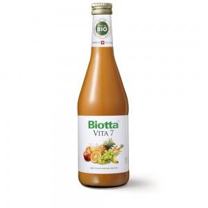 "Био - коктейль Biotta фруктово - овощной ""ВИТА 7"" 0,5 л."