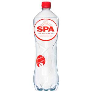 """Вода минеральная природная столовая """"SPA Barisart"""" газированная, 1 л. (пластик)"""