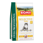 Biomill Selective Chicken Корм Биомилл для взрослых кошек (с индейкой и курицей), 1,5 кг