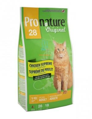 ... Корм Пронатюр 28 для взрослых кошек, с