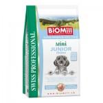 Biomill Mini Junior Корм Биомилл для щенков мелких и карликовых пород, 3 кг.