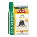 Biomill Mini Adult Корм Биомилл для взрослых собак мелких и карликовых пород, 8 кг.