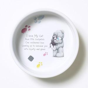 Керамическая миска для кошек Me to you