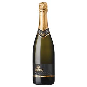 Полусухое безалкогольное шампанское Rimuss Secco, 750 мл.