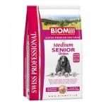 Biomill Swiss Professional Medium Senior Корм Биомилл для пожилых собак крупных и средних пород, 3 кг.