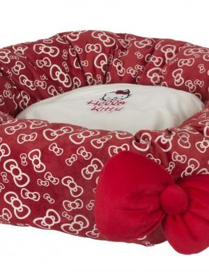 Кровать-пончик Hello Kitty
