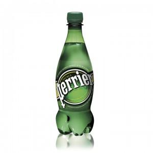 Минеральная вода Perrier газированная 0,5 л (упаковка 24 бутылки)