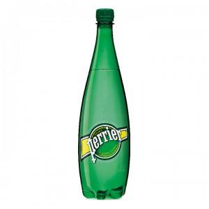 Минеральная вода Perrier газированная 1,00 л (упаковка 6 бутылок)