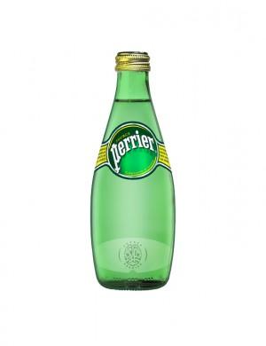 Минеральная вода Perrier газированная 0,33 л (упаковка 4 бутылки)