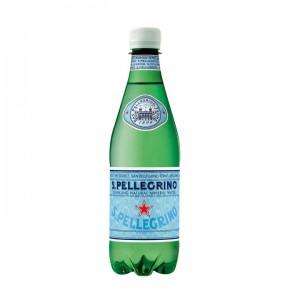 Минеральная вода San Pellegrino газированная 0,5 л (упаковка 6 бутылок)