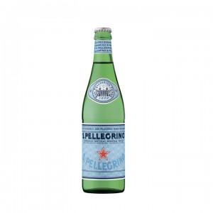 Минеральная вода San Pellegrino газированная 0,5 л (стекло)