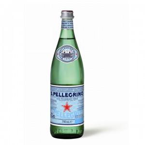Минеральная вода San Pellegrino газированная 0,75 л (стекло)