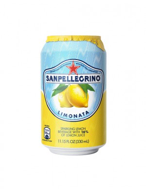 S.Pellegrino лимон 0,33 л (упаковка 6 банок)
