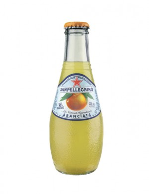 Sanpellegrino Aranciata апельсин 0,2 л (упаковка 6 банок)