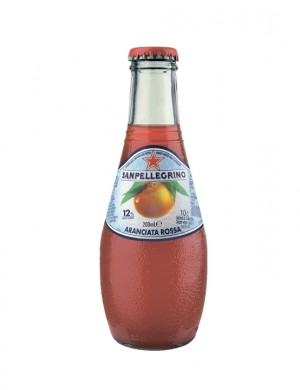 Sanpellegrino Aranciata, красный апельсин 0,2 л (упаковка 6 бутылок)