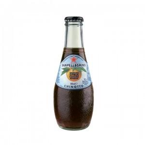Sanpellegrino Chinotto померанец 0,2 л (упаковка 6 банок)