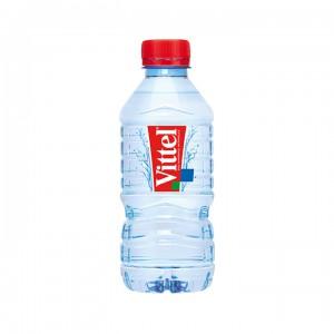 Минеральная вода Vittel негазированная 0,33 л (упаковка 8 бутылок)