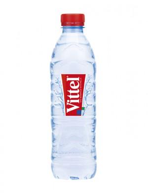 Минеральная вода Vittel негазированная 0,5 л (упаковка 24 бутылки)