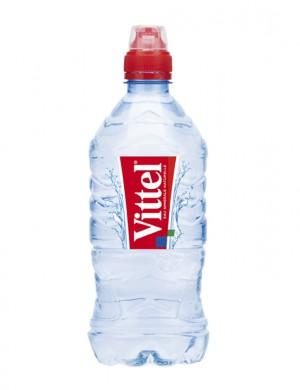 Минеральная вода Vittel негазированная 0,75 л с дозатором (упаковка 6 бутылок)