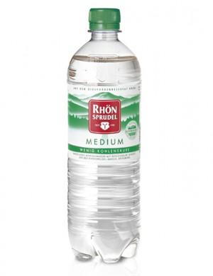 Rhön Sprudel Medium слабогазированная 0,75 л, 6 шт
