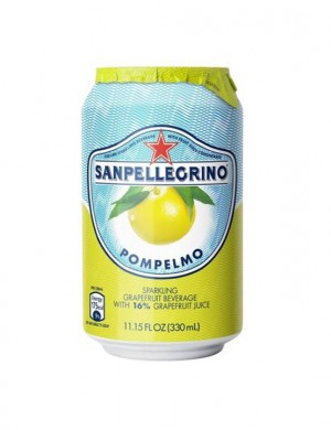 San Pellegrino Pompelmo грейпфрут 0,33 л (упаковка 6 банок)