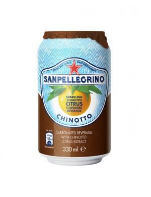 San Pellegrino Chinotto померанец 0,33 л (упаковка 6 банок)