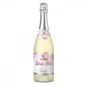 """Игристое полусухое безалкогольное шампанское Rimuss с ароматом личи """"Litchi-Perl"""", 750 мл."""