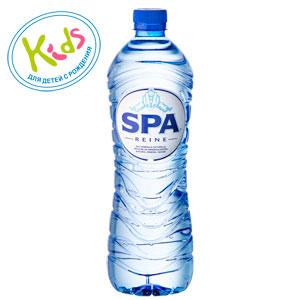 """Вода минеральная природная столовая """"SPA Reine"""" негазированная, 1 л. (пластик)"""