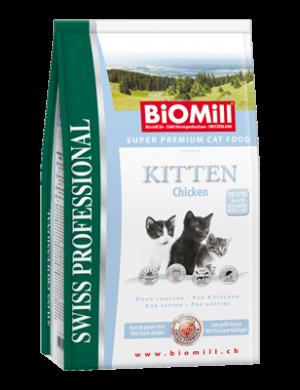 Biomill Kitten Корм Биомилл для котят и беременных кошек, 1,5 кг
