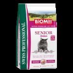Biomill Senior Корм Биомилл для пожилых кошек старше 8 лет и в период восстановления после заболеваний, 1,5 кг