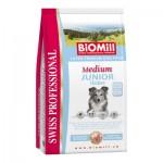 Biomill Medium Junior Корм Биомилл для щенков средних пород, 3 кг.
