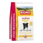 Biomill Medium Adult Корм Биомилл для взрослых собак средних и крупных пород, 12 кг.
