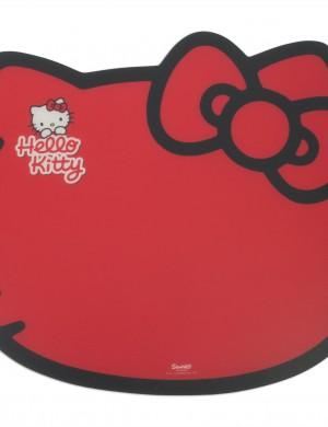 Коврик для кормления Hello Kitty (красный)