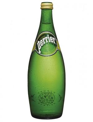 Минеральная вода Perrier газированная 0,75 л (упаковка 4 бутылки)