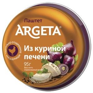 Паштет из куриной печени Argeta, 95 г